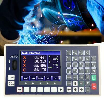 4 axis CNC controller USB Stick  G code Spindle Control Panel MPG Stand Alone