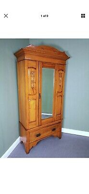 An Antique Early 20th Century Wardrobe