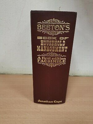 Beetons Book of Household Management A First Edition Facsimile 1968 (Hospice)