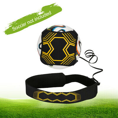 Adjustable Football Kick Trainer Soccer Ball Train Aid Equipment Practice Belt