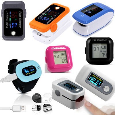 OLED Wrist Bluetooth Oximeter Portable Rechargeable Fingertip Pulse Oximeter