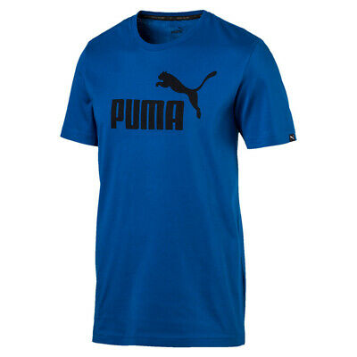 PUMA HERREN ESS Essential No.1 Logo Tee T Shirt Keeps You