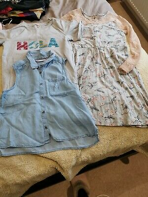 Small Bundle Of Age 12 Years Girls Clothes John Lewis Jumper, Dress, H&M...
