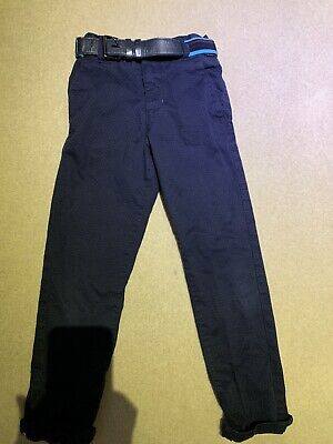 ted baker trousers navy boys age 7