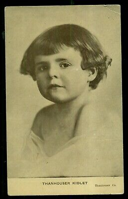 "1913 Helen Badgley "" The Thanhouser Kidlet"" Postcard"