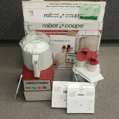 Robot Coupe R2N Commercial Standard Food Processor - 3 Qt. NICE!!