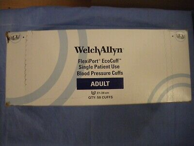 28 welch allyn adult FlexiPort EcoCuff® Single Patient Use Blood Pressure Cuffs