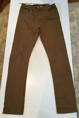 H&M Boys Skinny Fit Tan Coloured Jeans . Age 14Y+
