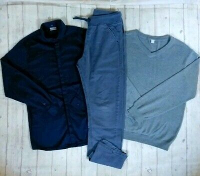 13 14 Years Next Signature Shirt Jumper Chinos Boys Trendy Outfit Clothes Bundle