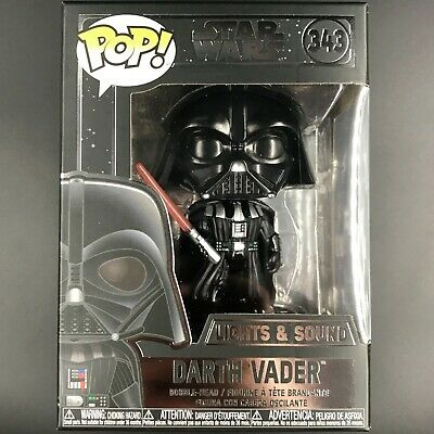 Funko Pop! Star Wars - Darth Vader (Electronic Lights & Sound) #343 Vinyl Figure