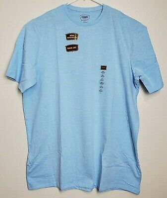 The Foundry Big /& Tall 2 Tone Big Man/'s Crew Neck T-Shirt in Blue Size LT