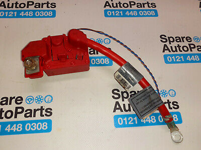 Bmw 1 Series E88 E87 2009, Positive Battery Terminal 9130879