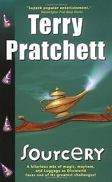 Sourcery (Discworld Novels) by Terry Pratchett | Book | condition very good