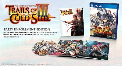 The Legend of Heroes: Trails of Cold Steel III - PS4 - Early Enrollment Edition