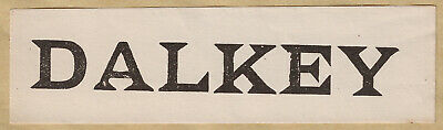 Irish Railway Label - Dalkey