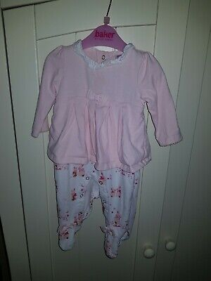 Baby Girls TED BAKER Outfit - age 3-6months - great condition