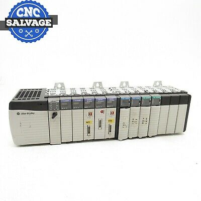 Allen Bradley 13 Slot Rack With Modules 1756-A13