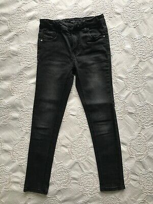 boys trousers skinny jeans size 7-8 Years 128cm black Reserved