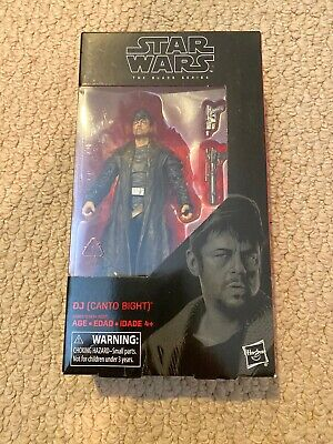 "Star Wars Black Series 6"" DJ Canto Bight #57"
