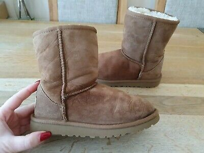 Ugg Classic Short Boots Kids Girls Size Uk12 Eu30 100%Genuine
