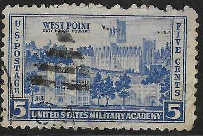 5v0686 Scott 789 US Stamp 1936 5c West Point Army/Navy