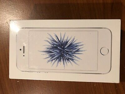 BRAND NEW Simple Mobile Apple iPhone SE Silver 32 GB IN SEALED BOX