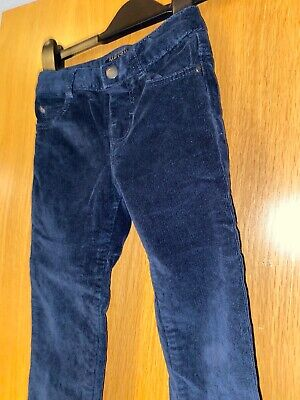 Mayoral Age 4 Boys Blue Cord Trousers Jeans