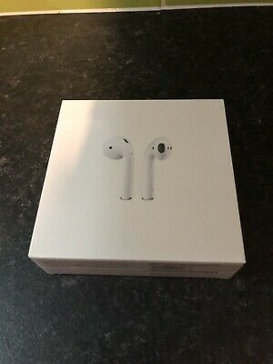 Apple AirPods 2nd Generation with Charging Case - White. Brand New Unopened