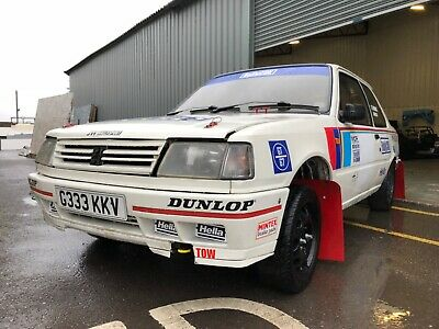 Peugeot 309 GTi Rally Car Project