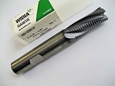 12mm SOLID CARBIDE 4 FLUTED TiALN COATED RIPPER RIPPA HANITA 490612005LW P310