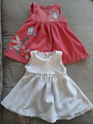 Baby clothes 3-6 months girls 5 items lovely dresses M&S Next bundle