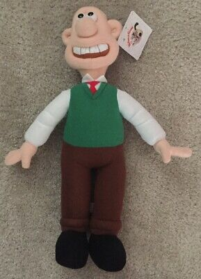 "Nanco 2009 Wallace and Gromit 12"" Plush NWT New With Tags HTF Rare"