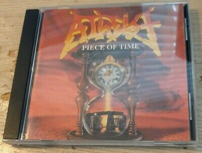Atheist – Piece Of Time + Unquestionable Presence CD Music for Nations active