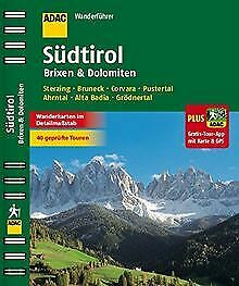 ADAC Wanderführer Südtirol, Brixen & Dolomiten plus G... | Book | condition good