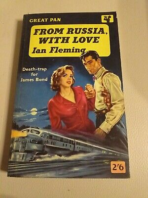 From Russia With Love James Bond Ian Fleming 1st Great Pan Paperback G229 1959
