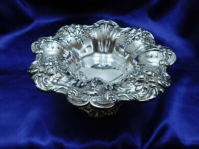 Reed & Barton Francis 1St Sterling Silver Solid Compote - Very Good Condition