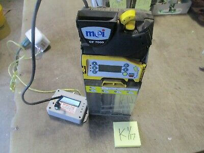 Used MEI Cashflow 7512i Coin Changer, Works Great! FREE SHIPPING
