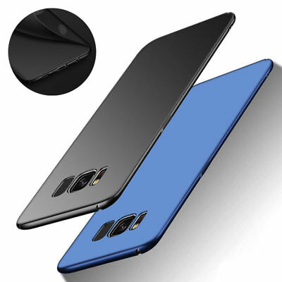 360° Slim Shockproof Matte Hard Case Cover For Samsung Galaxy S6 S7 Edge S8 Plus