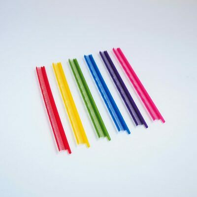 Cospro 4.4Mm Micro Tagging Pins, Rainbow, 7200 Pcs