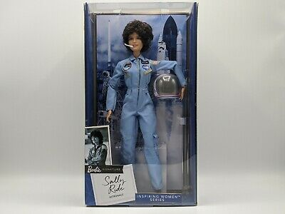 Mattel Barbie Signature Inspiring Women Series Sally Ride Astronaut Doll NASA