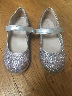 Girls' Next sparkly glitter party shoes size 10