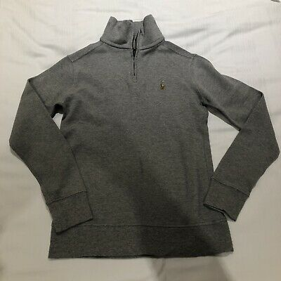 Grey Polo Ralph Lauren Long Sleeve Boys Top Age 8