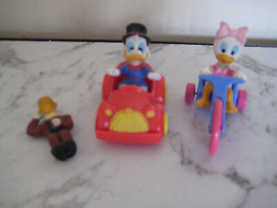 Mcdonalds Happy Meal-Duck Tails Figures-Used