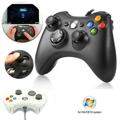 USB Wired Game Controller Gamepad Joystick For Microsoft 360 PC Windows System