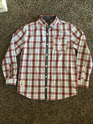 Boys Beverley Hills Polo Club, Long Sleeved  Checked shirt, Size 9-10 years