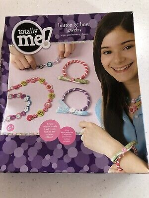Toys R Is Totally Me Button & Bow Jewellery Making Set / Kit. New In Box.