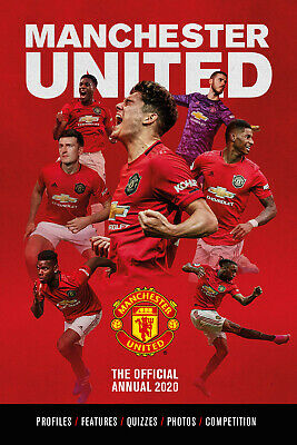 Manchester United - The Official Annual 2020 - Red Devils - football book