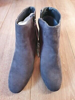 BNWT Grey Principles Ankle Boots Size 6