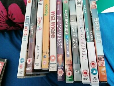 The Book of Gabrielle dvd job lot bundle gay interest 11 dvds German French UK