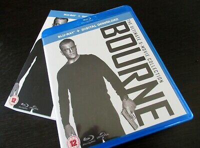 Bourne Ultimate 5-Movie Collection, blu-ray five films, UV codes not included